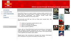 Visit Royal Mail recruitment microsite